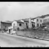 Hillside homes, Southern California, 1928