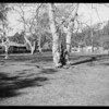 Group at Sycamore Park, Southern California, 1925