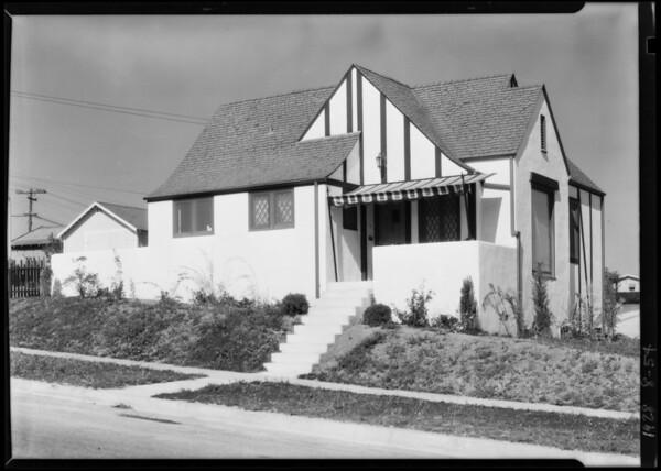 612 North Marlborough Avenue, Inglewood, CA, 1928