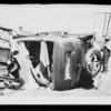 Auto crash, Southern California, 1931