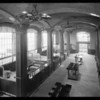 Los Angeles First National Bank interior, Glendale branch, Southern California, 1928