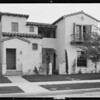 House & flats, Southern California, 1931