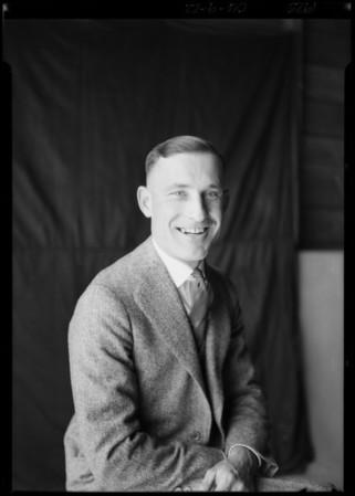 Walter Carter, Southern California, 1925