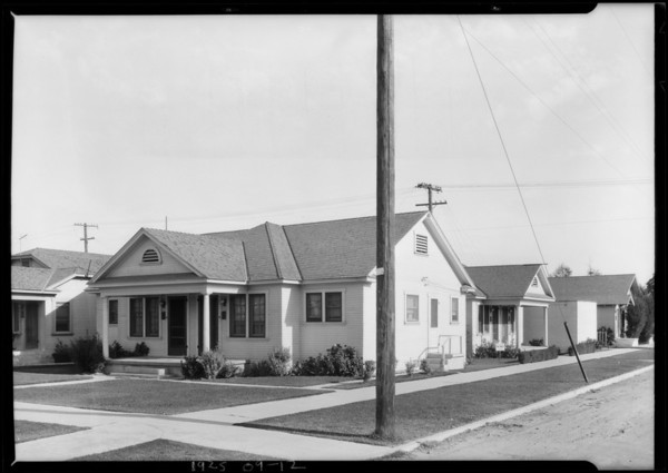 South East Corner, 51st & Denker, Los Angeles, CA, 1925