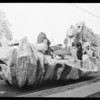 Preview of floats and mummers, Southern California, 1929