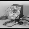 Crystal radio set, Southern California, 1931