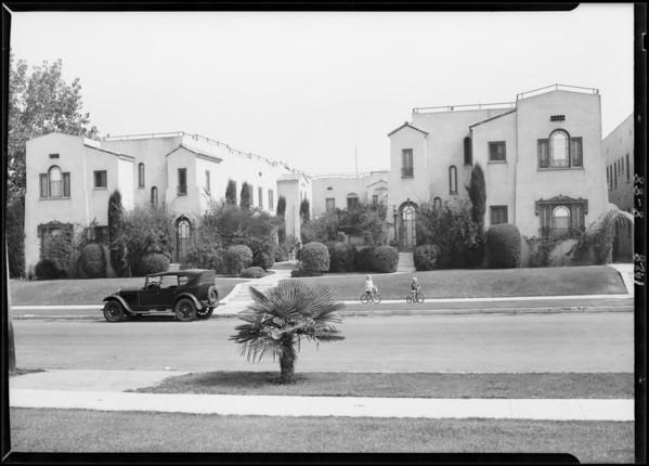 3843-3853 West 27th Street, Los Angeles, CA, 1928