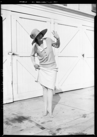 For Radio magazine, Southern California, 1925