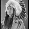 William Harrison, Chickasaw chief was with Mission Play from opening night, Southern California, 1930