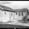 House at 230 East 84th Street, where his niece moved to after marraige, Los Angeles, CA, 1928