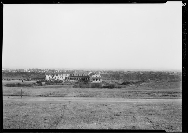 Recreation possibilities near California Riviera, Los Angeles, CA, 1928