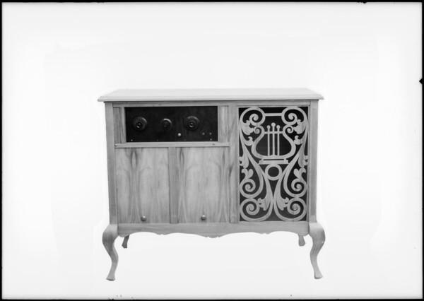 Tansay Radio Cabinet Co., Southern California, 1925