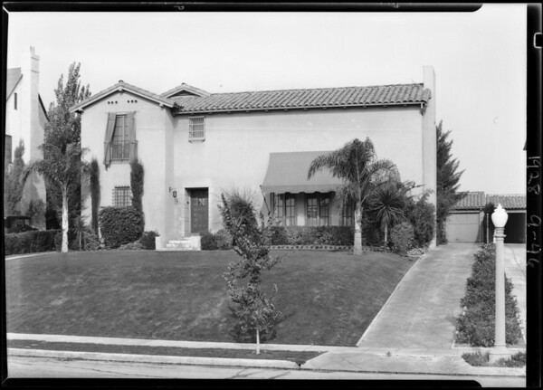 426 South McCadden Place, Los Angeles, CA, 1928