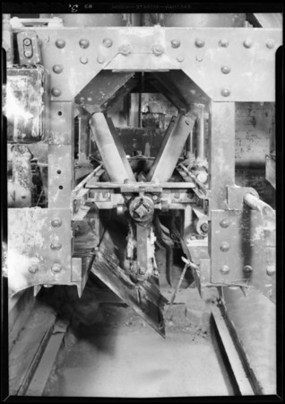 Factory machine, Pioneer Paper Co., Southern California, 1931