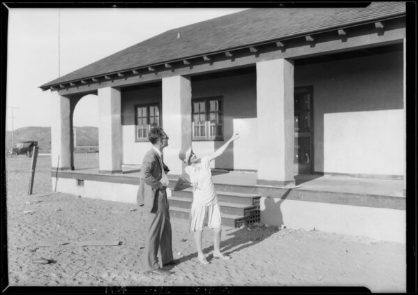 Publicity at Del Mar, CA, 1927