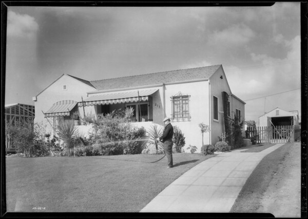 Houses in View Heights, Southern California, 1927
