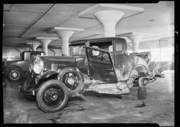 Intersection, Melrose Avenue & North Cahuenga Boulevard, Southern California, 1931