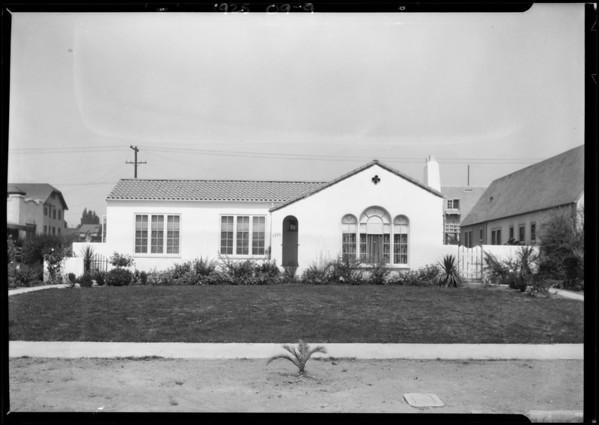 1777 Las Lunas Street, Pasadena, CA, 1925