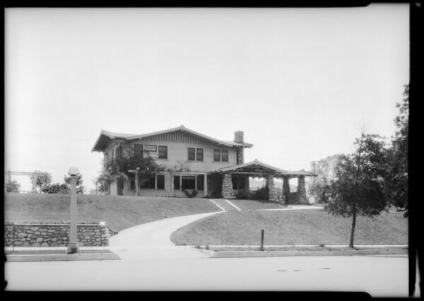 5626 Berkshire Drive, Los Angeles, CA, 1925