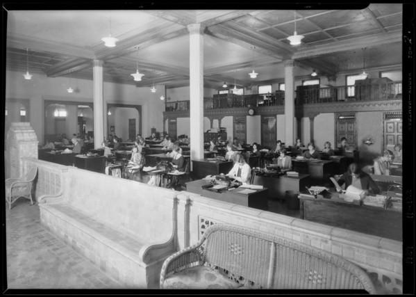 Union Auto Insurance Co., Southern California, 1929