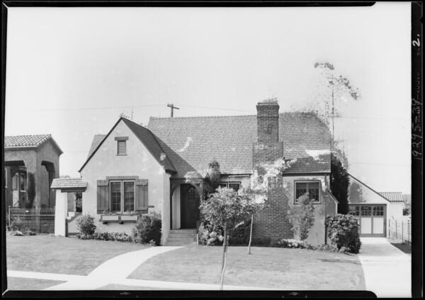 3515 Crestwold Avenue, Los Angeles, CA, 1929