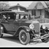 1928 Buick sedan at 926 South Gramercy Place, Los Angeles, CA, 1931
