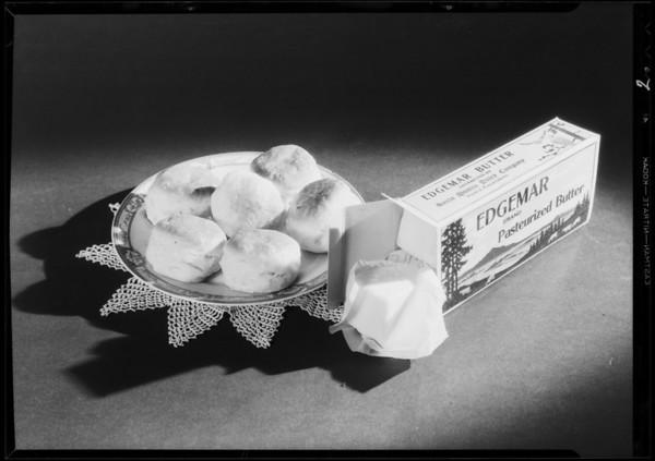 Butter advertisement, Southern California, 1931