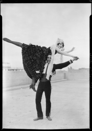 Spanish dancers at Western Costume, Southern California, 1925
