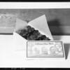 Box of glazed fruit, Southern California, 1925