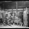 Interior of Columbia Steel Co. mills, Mr. Taylor, Assistant Superintendent, Torrance, CA, 1928