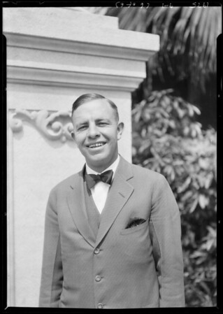 Mr. Boreland, Harriet Elliot Co., Southern California, 1925