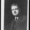 Portrait of Mr. Rieber, Southern California, 1930