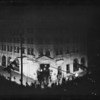 Los Angeles First National Bank, night shots opening night, Los Angeles, CA, 1928