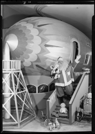Santa Claus, May Co., Southern California, 1931