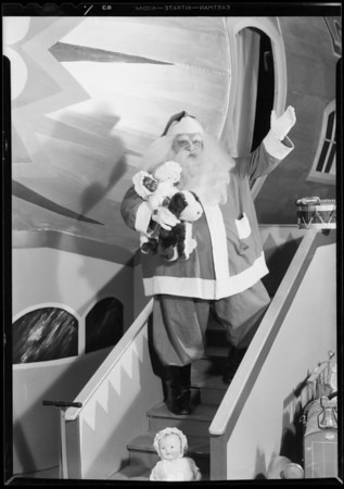 Santa Claus, May Co., Southern California, 1931
