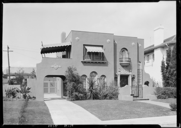 715 South Lorraine Boulevard, Los Angeles, CA, 1925