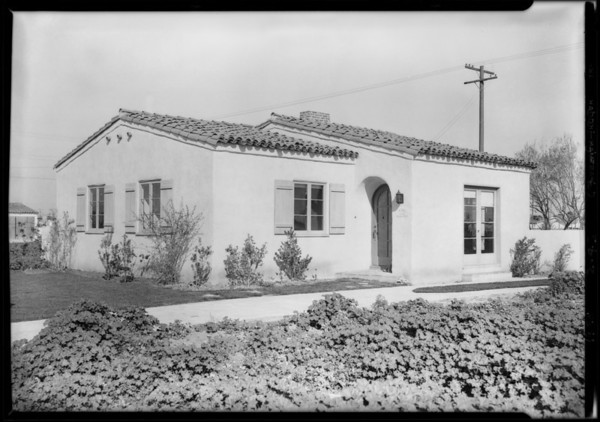 Houses at Leimert Park, Los Angeles, CA, 1928
