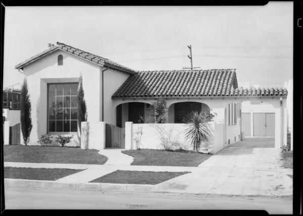 113 South La Jolla Avenue, Los Angeles, CA, 1929