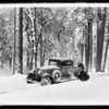 Snow scene, Union Oil Co., Southern California, 1931