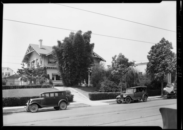 317 South Vermont Avenue, Los Angeles, CA, 1928