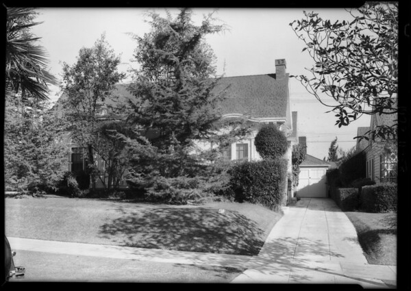 116 North Ridgewood Place, Los Angeles, CA, 1928