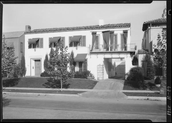 250-252 South Orange Drive, Los Angeles, CA, 1928