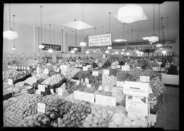 Pay'n Takit store, 4721 Whittier Boulevard, Los Angeles, CA, 1931