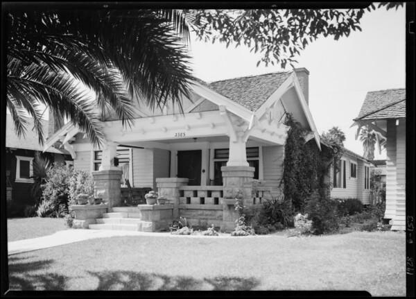 2385 West 31st Street, Los Angeles, CA, 1928