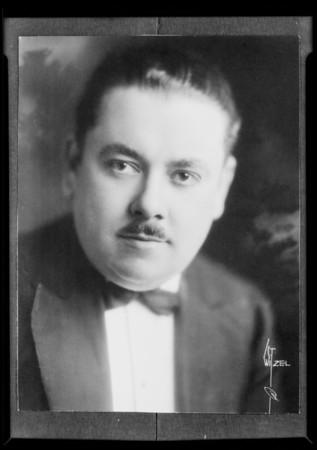 Portrait, Mr. Victor Smith, Southern California, 1930