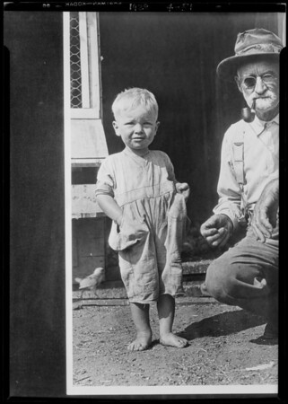 Copy of boy for Clark of Herald, Southern California, 1928