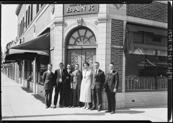 Pacific-Southwest Trust & Savings Bank - Normandie & Hollywood Branch, 5101 Hollywood Boulevard, Los Angeles, CA, 1924