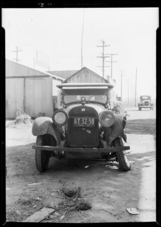 Buick and De Soto, Compton, Los Angeles, CA, 1931