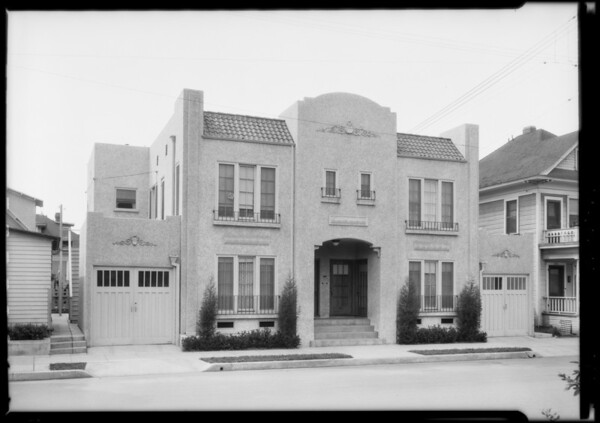 1317 South Oxford Avenue, Los Angeles, CA, 1925