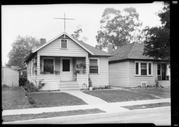 Mrs. Poole's house, Southern California, 1925